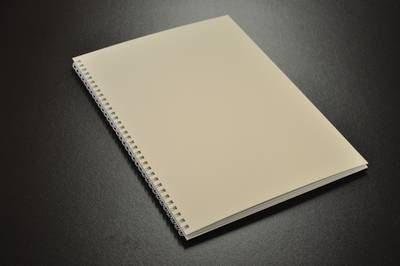 Hardcover A4 weiss